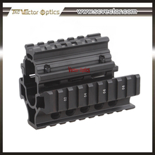 Vector Optics Tactical AK Compact Handguard Quad Rail System with Rubber Covers