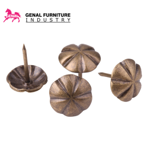 Metal decorative nail round head upholstery tacks for sofa