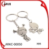 promotional gifts key chain wholesale cute design couple keychains