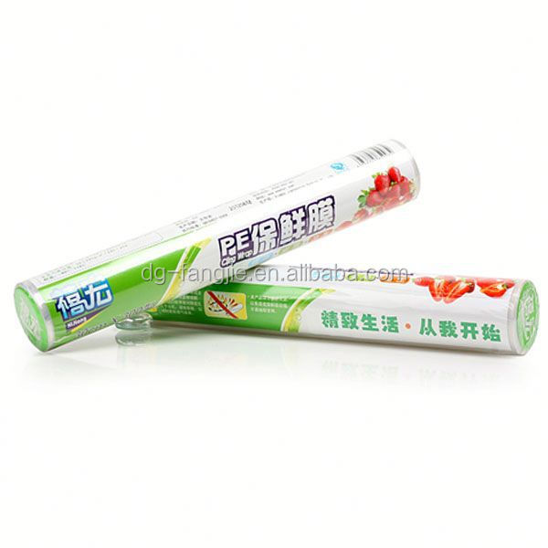 protection film plastic clear nano pe stretch wrap