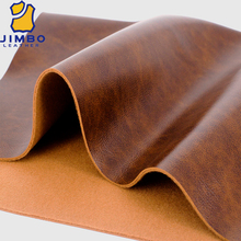Embossing soft sofa PU leather furniture leather