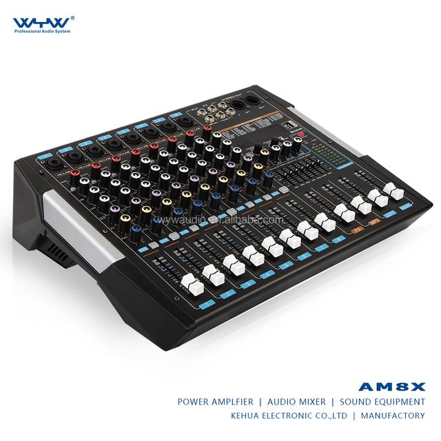 professional recording audio mixer