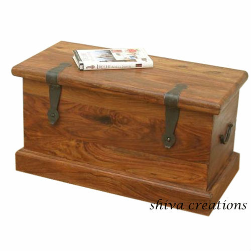 Indian Wooden Storage Trunks   Buy Indian Wooden Storage Trunks,Wooden  Trunks For Sale,Sheesham Wooden Trunk From India Product On Alibaba.com