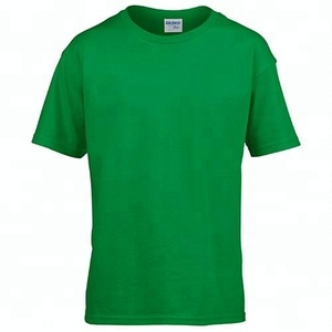 pre shrunk 100% cotton basic mens t shirt for boys