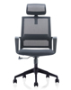 2018 hot sale cheap adjustable office mesh chairs furniture equipment executive high back armrest conference swivel chair