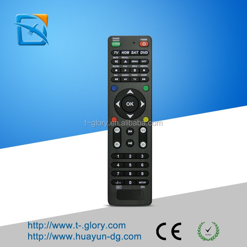 China factory customized android TV box of universal remote control codes for sony