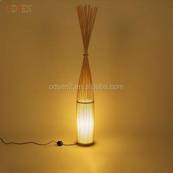 Decorative floor standing lamp bamboo floor lamp buy floor lamp decorative floor standing lamp bamboo floor lamp mozeypictures Images