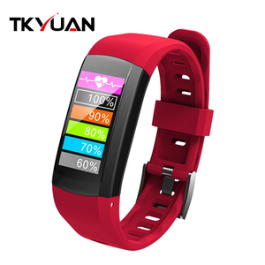 TKYUAN Swimming Smart Bracelet Watch GPS IP68 Waterproof Heart Rate Monitor Sport Fitness Tracker Smart Band For IOS Android