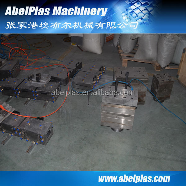 upvc fascia board machine
