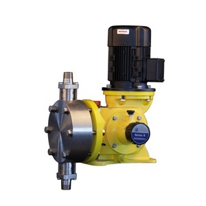 Plunger ram piston pump acid chemical metering dosing pump for waste water treatment