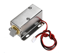 DC12V 350MA Cabinet Door Lock Electric Lock Assembly Solenoid For Door Electronic Controlled System