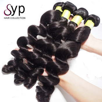 Dropshipping Peruvian Loose Wave Virgin Wavy Remy Human Natural Hair In Dubai for Long Extensions Grade 7A Seamless Premium