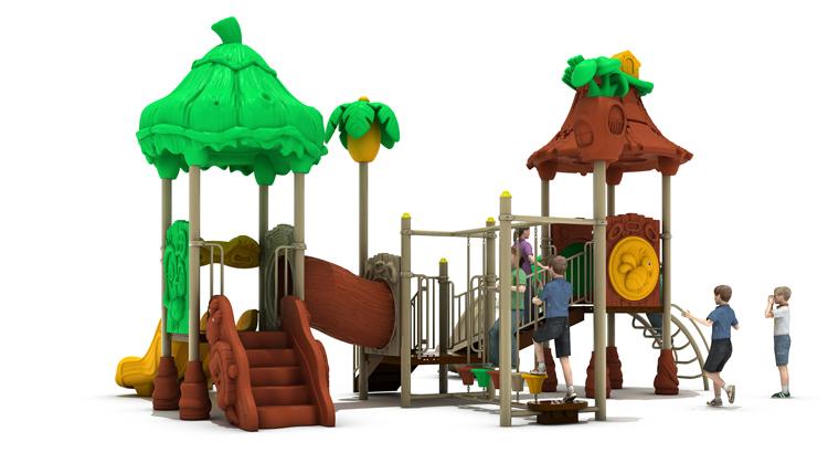 Plastic Type Outdoor Play Toys For Kids/playground Equipment Slide/children Backyard  Play Equipment