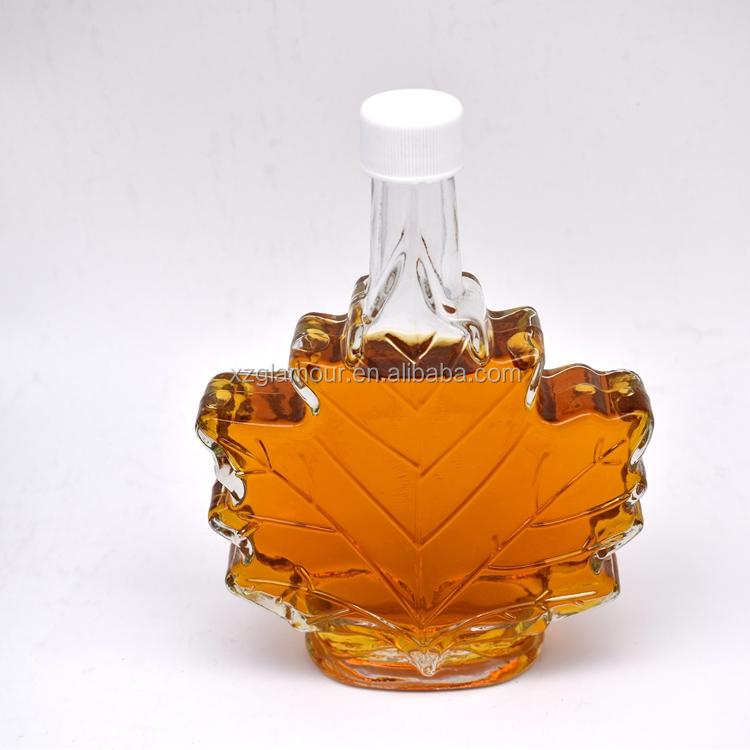 Image result for maple syrup in leaf shaped bottle