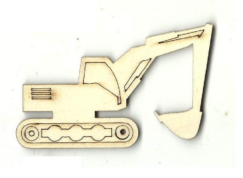 Front Loader - Laser Cut Unfinished Wood Shape CAR99
