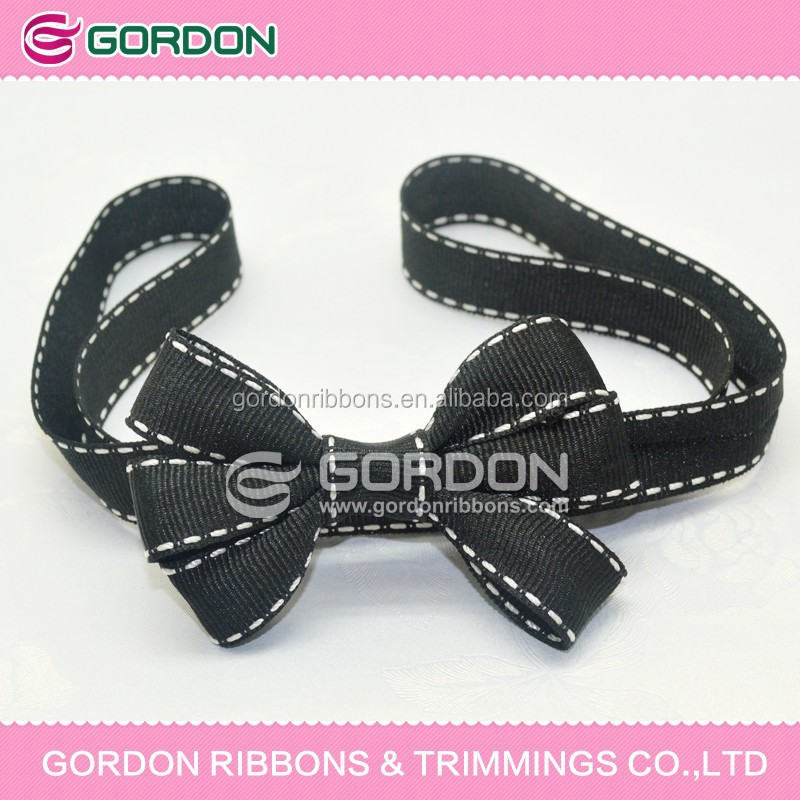 2015 packing bow for decoration /16mm stittching ribbon for packing