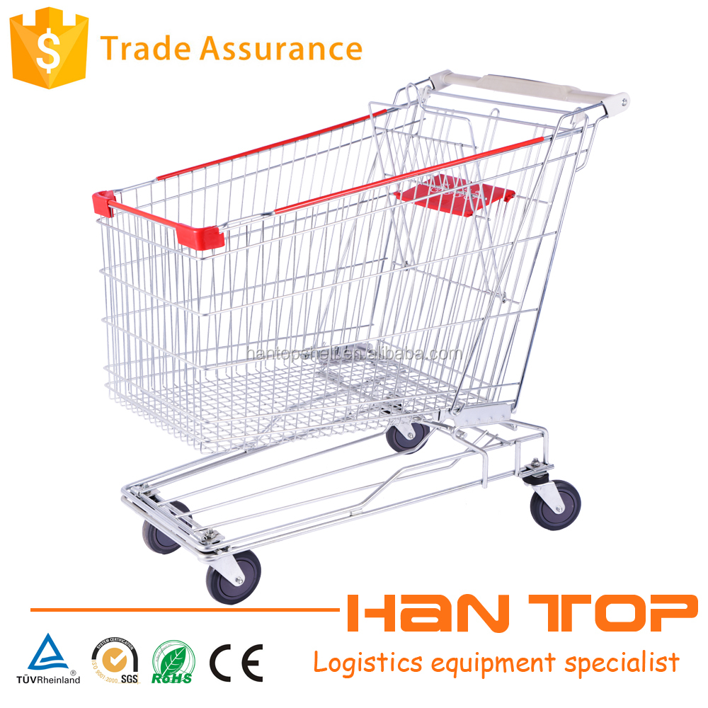 Wholesale Store Asian shopping trolley cart HAN-AS240 1382