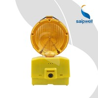 SAIP/SAIPWELL New Type Solar Flash Traffic Barricade Warning Light
