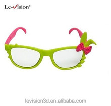 Cute 3D digital cinema glasses, Good quality cute children 3D glasses real D glasses