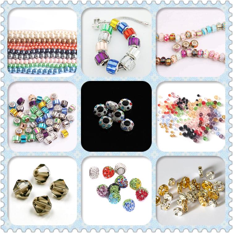 Yaoyue 40 farbe dekorative sicken strass edelsteine kristall perlen für schmuck machen