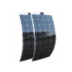 Portable Semi Flexible Solar Panel 18w 25w 50w 100w 120w 200w 300w  monocrystalline with good price and high efficiency