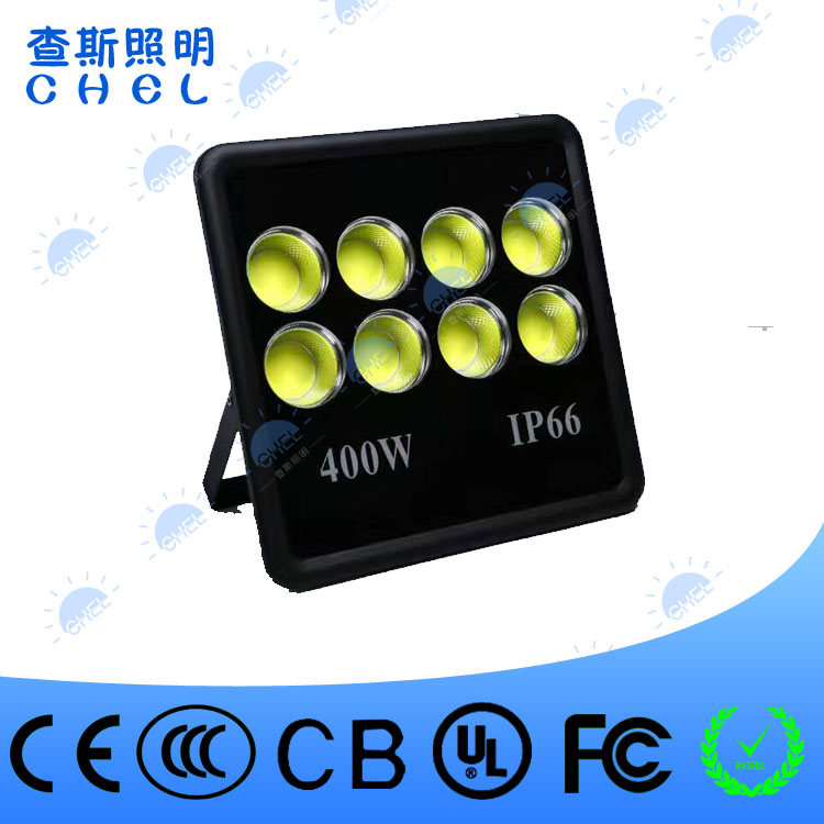 high power Super bright high lumen outdoor ip65 integrated double row 400w cheap led floodlight
