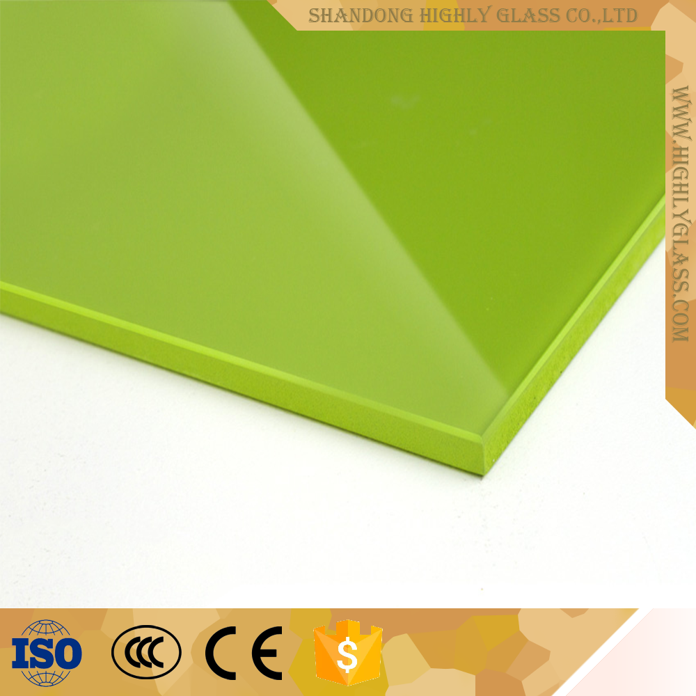 Colorful and Durable Enamel Painted Building Glass