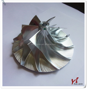 High Performance Turbo RHC5/6/7/9 Billet Compressor Wheel impeller blade NH265514 NH265Fit turbo/chra VD30 MIBE GM6/Hummer