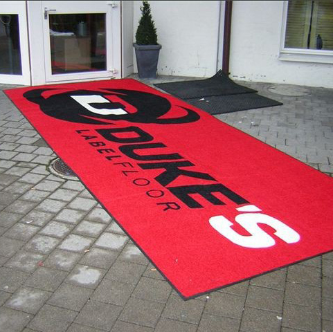 Custom Design Plain Mat with Logo Brand Pinting