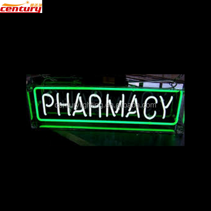 wholesale china factory price pharmacy custom neon light sign