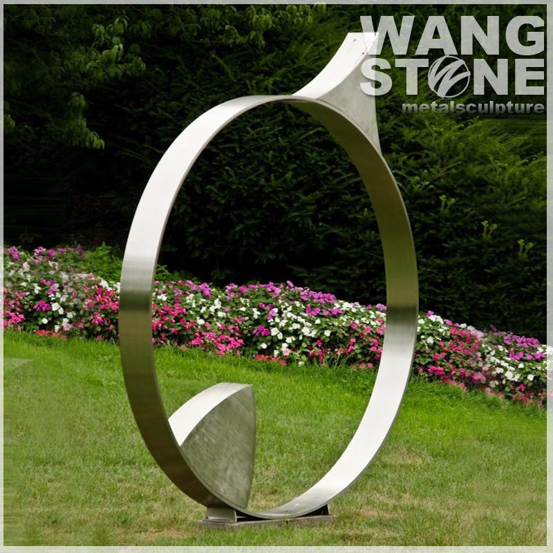 Jardin ronde moderne abstraite int rieure ext rieure - Sculpture exterieure metal ...