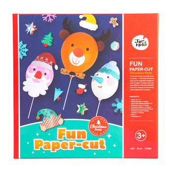 fun paper cut art kit christmas party paper art craft