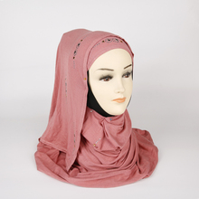 Groothandel Premium Aanpasbare Moslim <span class=keywords><strong>Jersey</strong></span> <span class=keywords><strong>Hijab</strong></span> Sjaal Effen Sjaal Vrouwen <span class=keywords><strong>Hijab</strong></span>