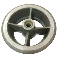 casting iron parts ductile iron sand casting wheel GGG40 ISO 9001 OEM customization Engineering design service