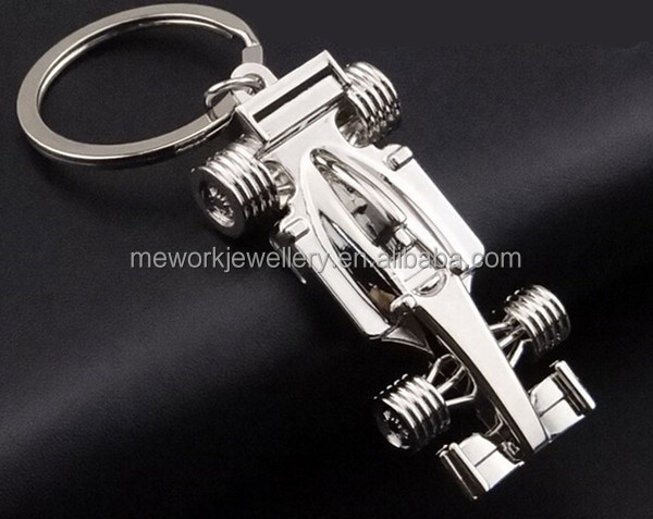High end classic motor shaped key ring custom motorcycle keychain