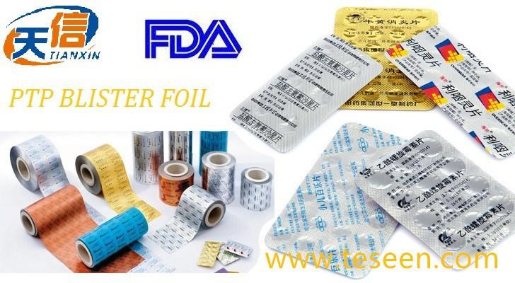 Laminated Aluminium Foil,Fda Approved,Blister Lacquered Alu Foil ...