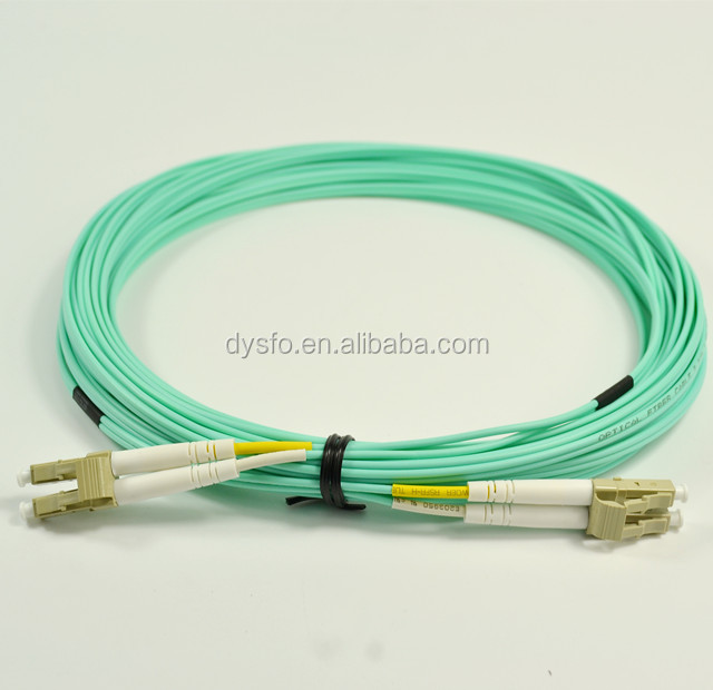 Fiber optic LC - LC OM3 DX 2.0mm patch cord