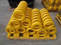excavator recoil spring,track adjuster,tensioning spring