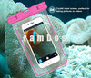 Universal IPX8 PVC Luminous Waterproof Case Mobile Phone Bag Pouch Underwater Swim Diving Bag Cover for 6 inch Samrtphones