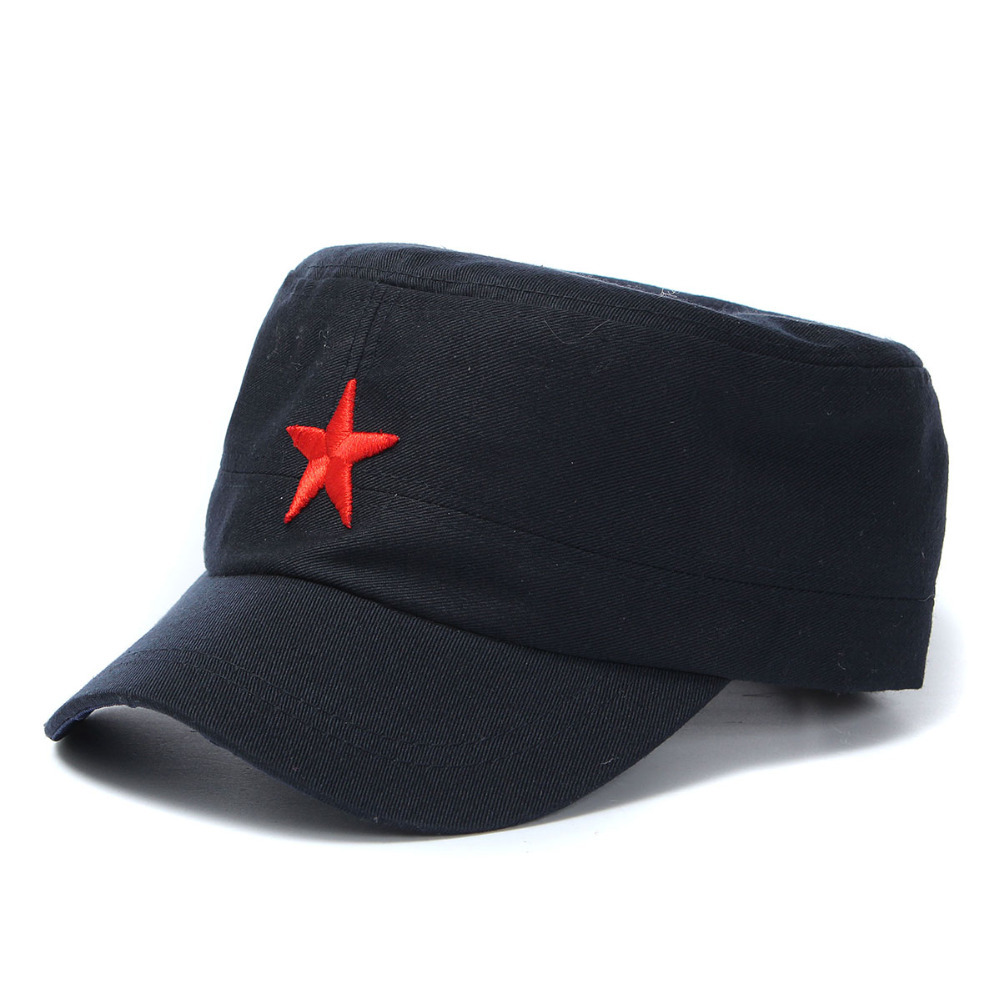 42a38104e21 Buy Classic Vintage Unisex Women Men Patrol Fatigue Army Cap Fabric  Adjustable Red Star Outdoor Sun Casual Military Hat 4 Colors in Cheap Price  on Alibaba. ...
