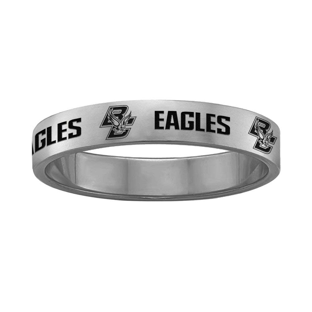 College Jewelry Youngstown State Penguins Signet Style Ring