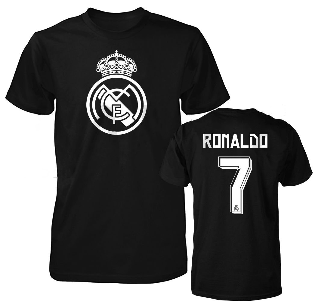 Get Quotations · Smart Zone FC Real Madrid Shirt Cristiano Ronaldo Men s T-  Shirt 115c98b1a