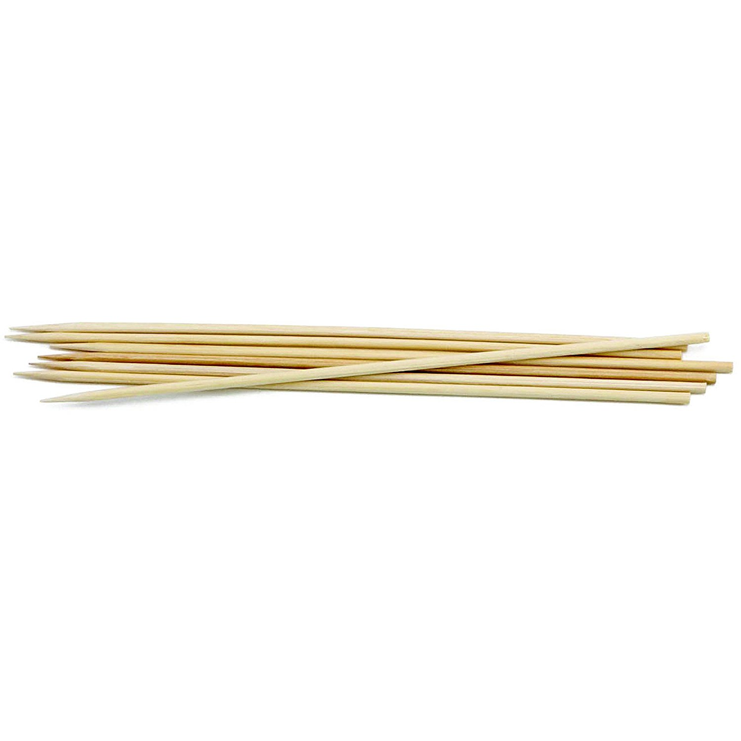 """TableCraft Products 908 8"""" Bamboo Skewer, 7.88"""" Height, 0.12"""" Width, 0.12"""" Length (Pack of 1000)"""