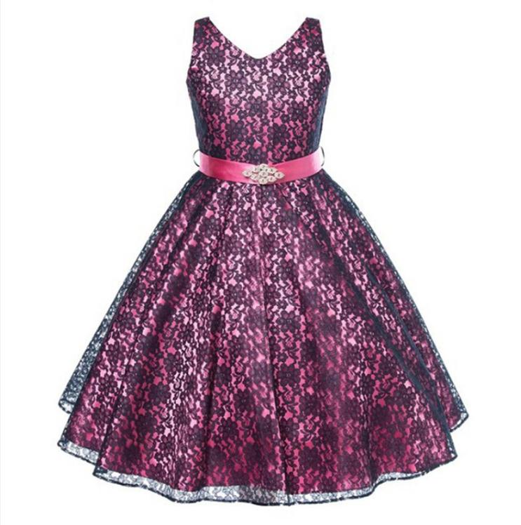 Venta al por mayor mejores vestido largos para niñas-Compre online ...