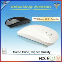 new design flat mouse 2.4ghz usb wireless optical mouse driver