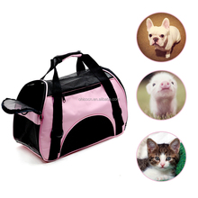 Pet Carriers For Dog & Cat Comfort Airline Approved Travel Tote Soft Sided Shoulder Bag with Mat