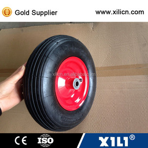 Multifunctional small wheel and tires for trolley cart machine.