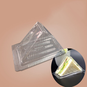 Top sale Blister Food plastic PP Packing Box for Sandwich