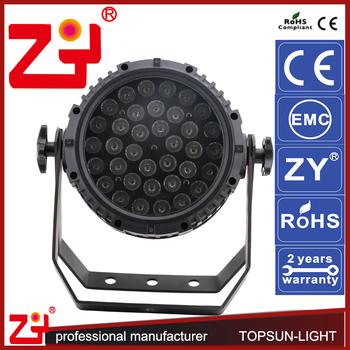 IP 65 36*3w Outdoor Led Rice Lights 8 Channels Light Meter Par
