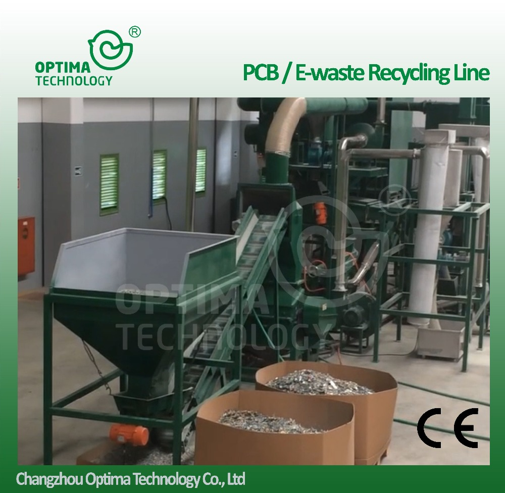 e waste recycling plant / e waste/ pcb recycling machine